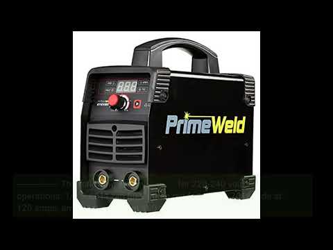 Photo of PrimeWeld Arc/Stick Welder Dual-Voltage Multipurpose Welder, Stick Welder Machine for Home or Jobsite Use