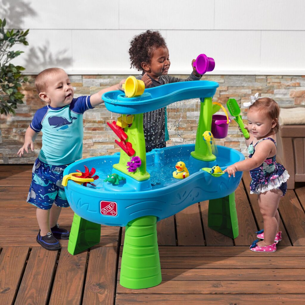 Picture of Rain Showers Splash Pond Water Table for Babies