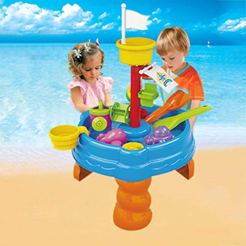 Photo of Sand Water Toy Set Summer Deluxe Water Table