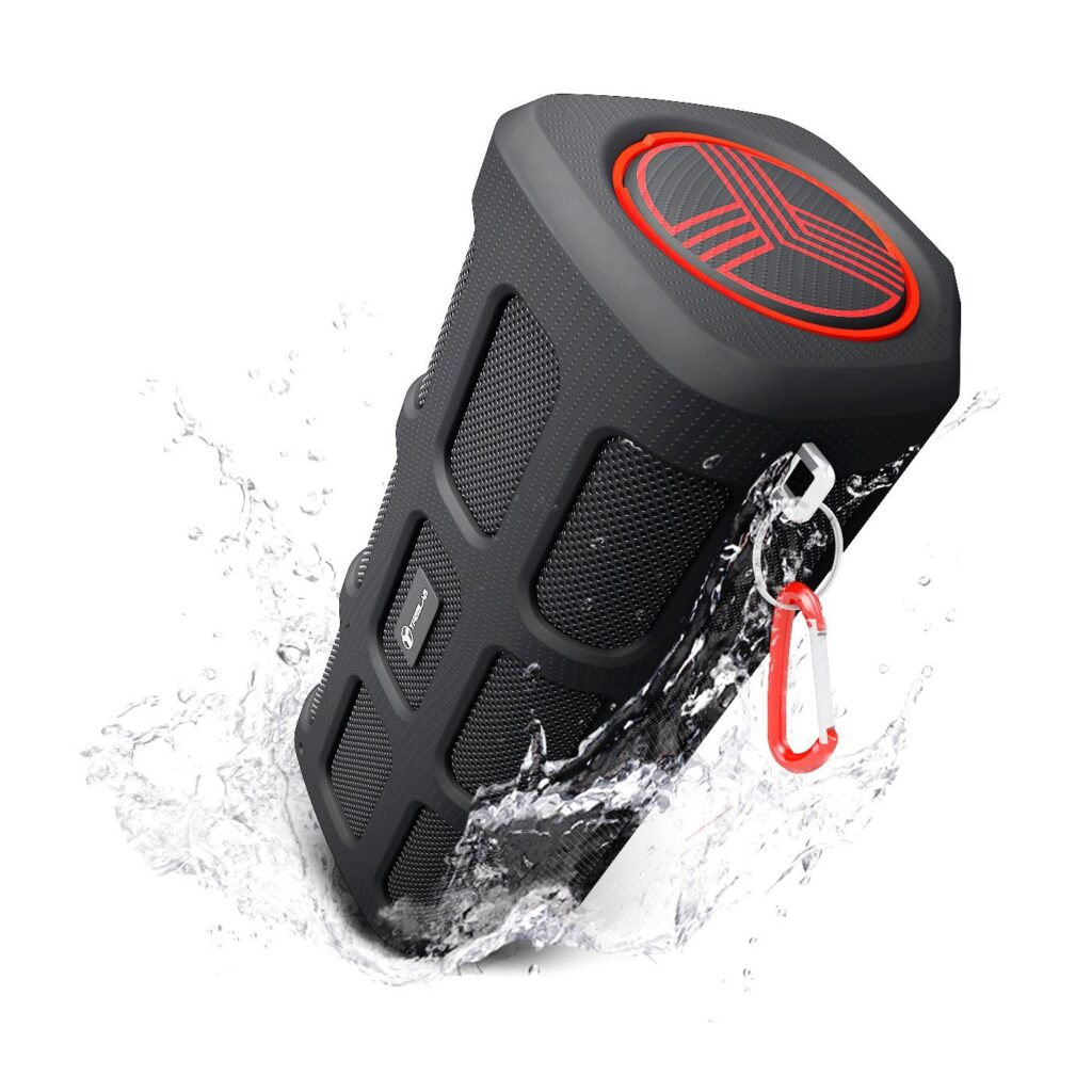 Picture of TREBLAB Extreme Bluetooth Speaker Shockproof, Waterproof IPX4, Built-In 7000mAh Power Bank