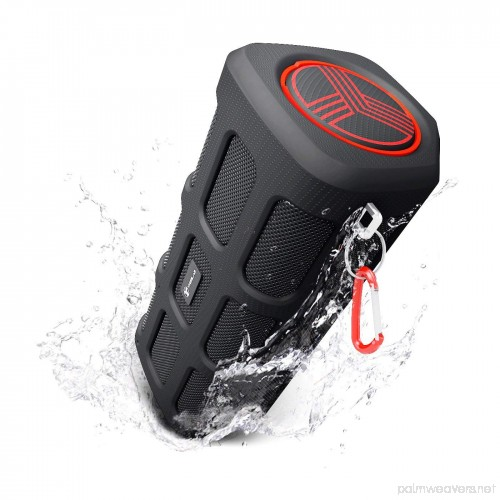 Image of TREBLAB  FX100 - Extreme Bluetooth Speaker - Loud, Rugged for Outdoors,  Shockproof, Waterproof IPX4
