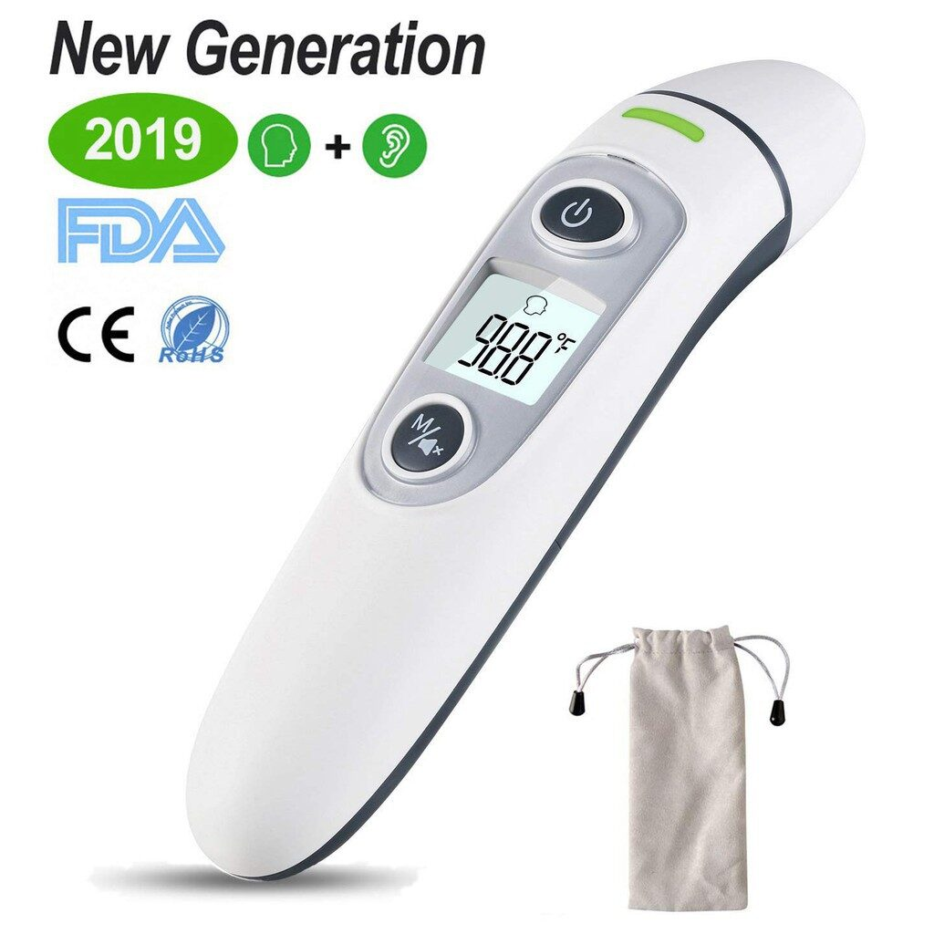 Picture of Vigorun Medical Forehead and Ear Thermometer