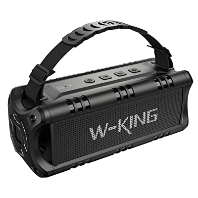 Picture of W-KING Wireless Bluetooth Speakers Built-in 8000mAh Battery Power Bank