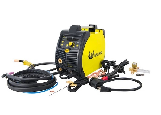 Photo of WeldPro 155 Amp Inverter MIG - Stick Arc Welder with Dual Voltage Welding Machine