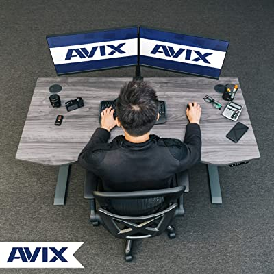 Photo of AVIX Manager Series - Electric Standing Desk - Height Adjustment