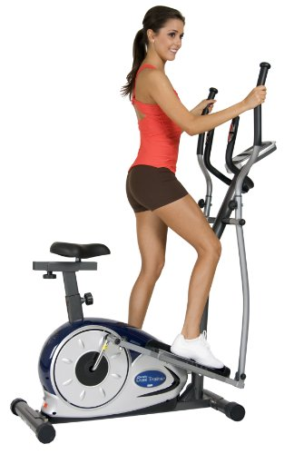 Photo of Body Champ 2 In 1 Elliptical Trainer and Upright Exercise Bike