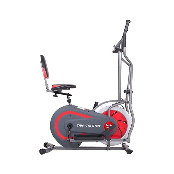 Image of Body Power 3 In 1 Elliptical and Upright, Recumbent Bike