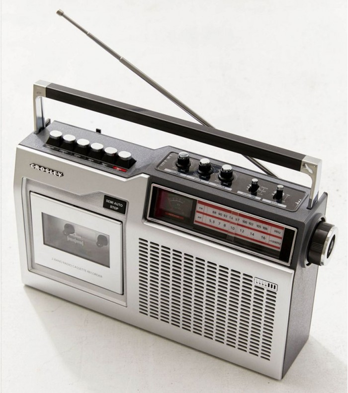 Photo of Crosley Portable AM-FM Radio with Bluetooth