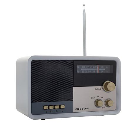 Image of Crosley Tribute Vintage Portable AM FM Bluetooth Radio