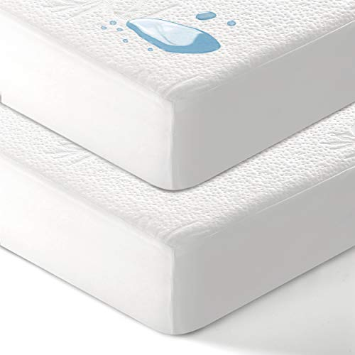 Picture of EASELAND Bamboo Waterproof Mattress Protector Queen Size