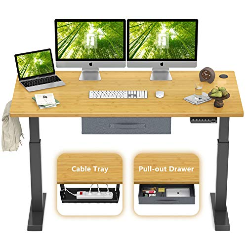 Photo of FEZIBO Height Adjustable Electric Standing Desk