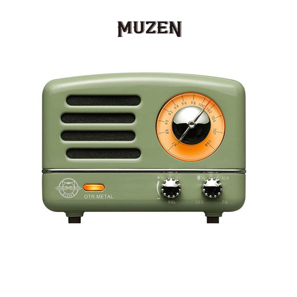 Image of MUZEN OTR Portable Metal Vintage FM Radio