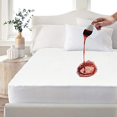Picture of PUREDREAM Premium Cooling Bamboo Waterproof King Size Mattress Pad Protector Cover