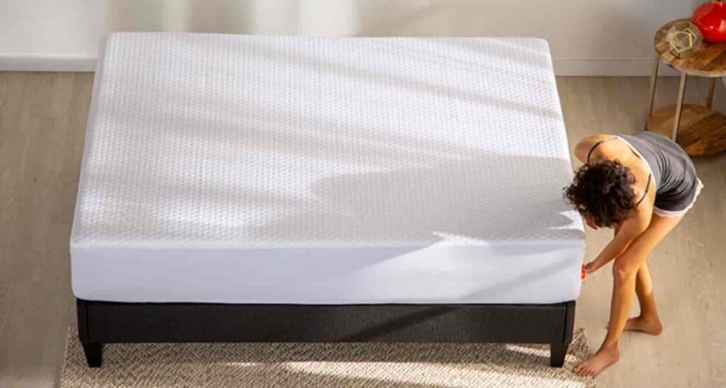 Image of Pure Bamboo King Bamboo Mattress Protector
