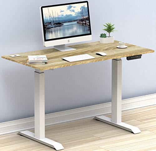 Image of SHW Electric Height Adjustable Computer Desk