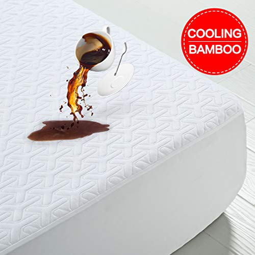 Picture of Silent Soft Queen Size Premium 3D Air Fabric Cooling Bamboo Waterproof Mattress Protector