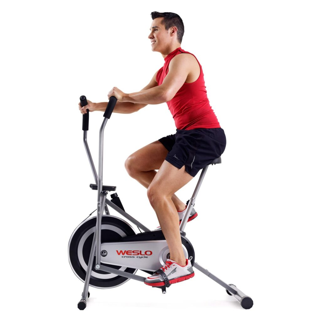 Picture of Weslo Cross Cycle Recumbent Exercise Bike and Elliptical Hybrid