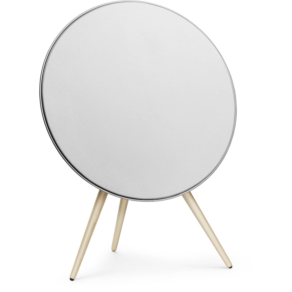 Picture of Bang & Olufsen Beoplay A9 4th Gen Wireless Multiroom Speaker, White with Oak Legs