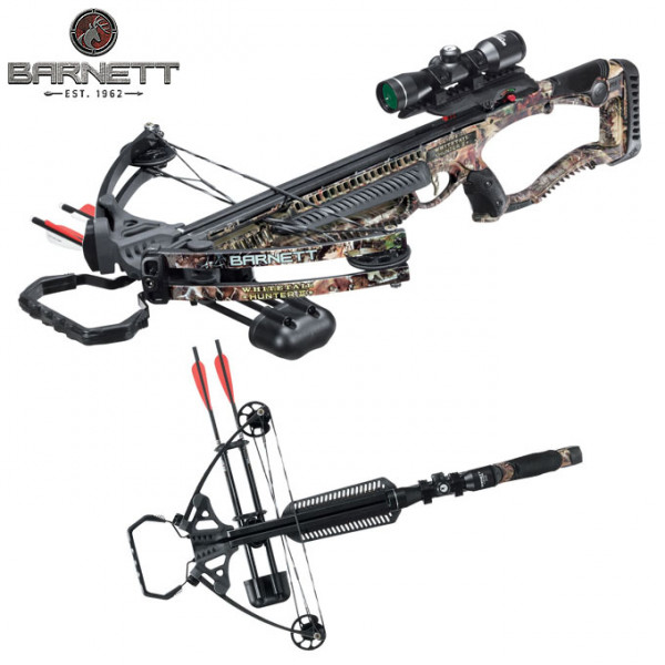 Picture of Barnett Whitetail Hunter II Crossbow - along with built-in coking device
