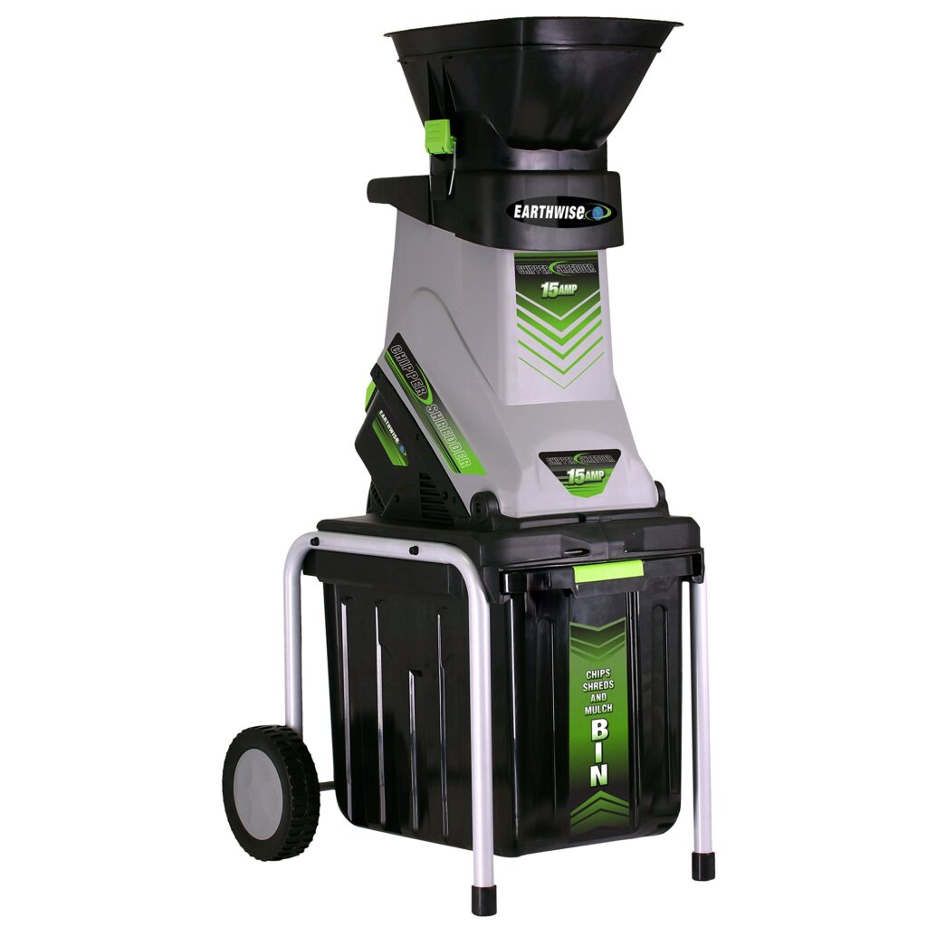 Photo of Earthwise GS70015 Garden Corded Electric Chipper and Shredder