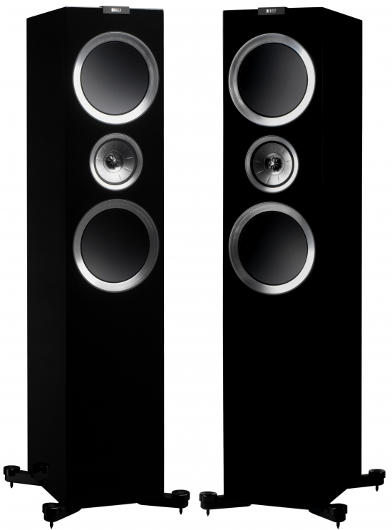 Photo of KEF R900 Floor Standing Loudspeaker - High Gloss Piano Black