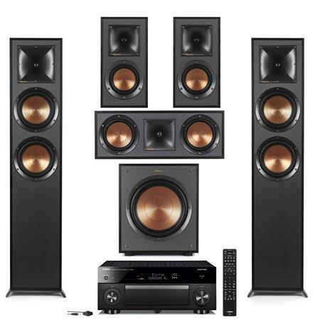 Image of Klipsch 2 Pack R-625FA Dolby Atmos Floor Standing Speakers under $5000