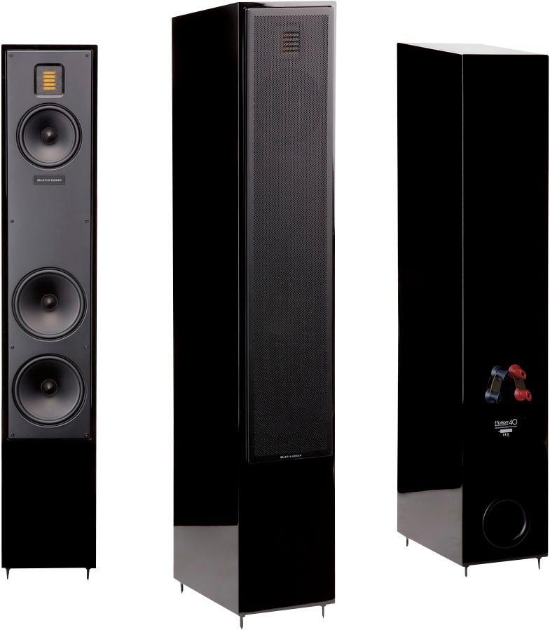 Photo of MartinLogan Motion 40 Gloss Black Floorstanding Loudspeaker