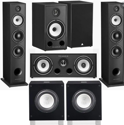 Picture of Triangle HiFi Floor Standing Speakers, Borea BR08