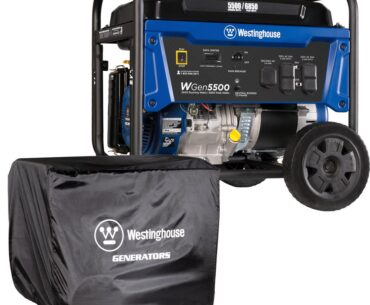 Picture of Westinghouse WGen5500 Portable Generator - 5500 Rated Watts Gas Powered