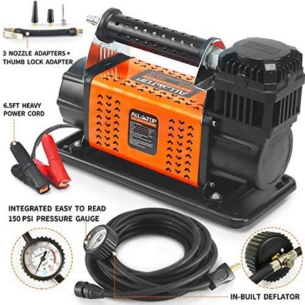 Photo of ALL-TOP Heavy Duty Portable 12V Air Compressors