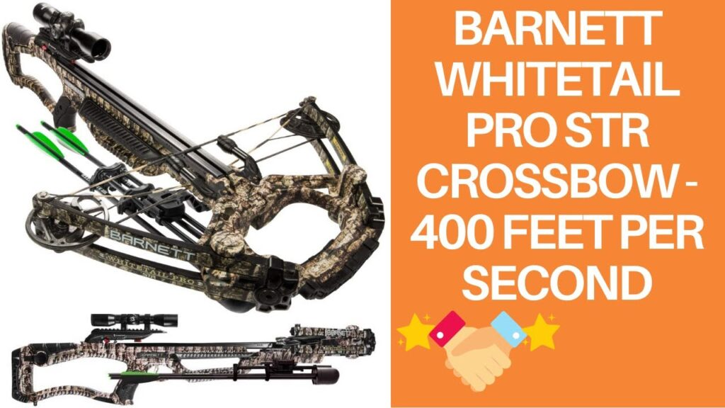 Image of Barnett Whitetail Pro STR Crossbow - 400 feet per second