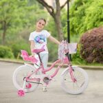 Image of COEWSKE 7-Year-Old Girl Bike Little Princess Style