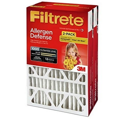 Picture of Filtrete MPR 1000 AC Air Flow Filters