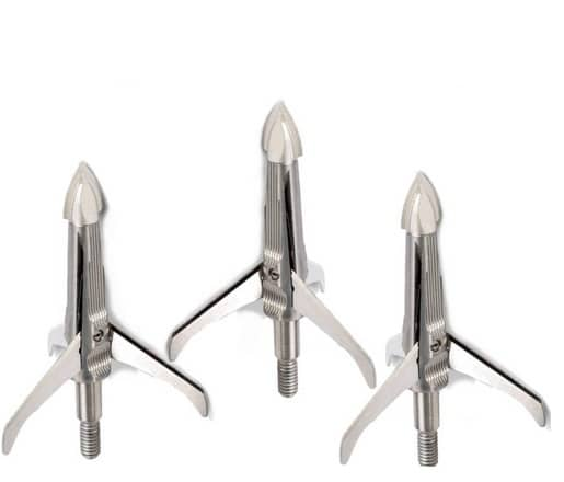 Image of NAP Spitfire Mechanical 100 Grain Three Blade Cut on Contact Broadheads