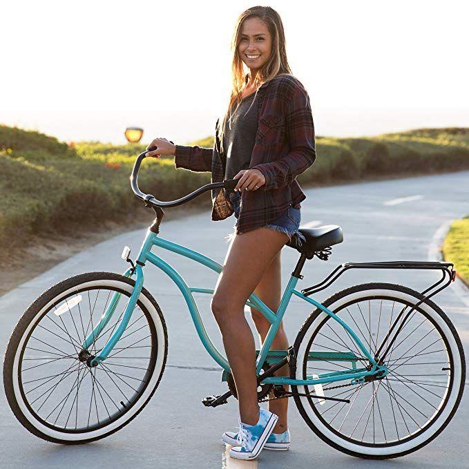Picture of Sixthreezero Around The Block Women's Single-Speed Beach Cruiser Bicycle