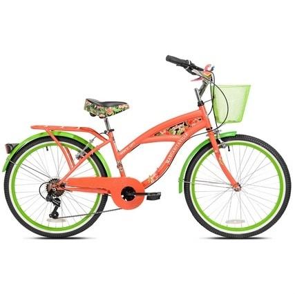 Picture of 24-Inch Girls Margaritaville Island Life Multi-Speed Bike