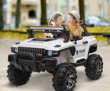 Photo of Aosom 12V Kids Electric 2-Seater Ride On With Parental Remote Control