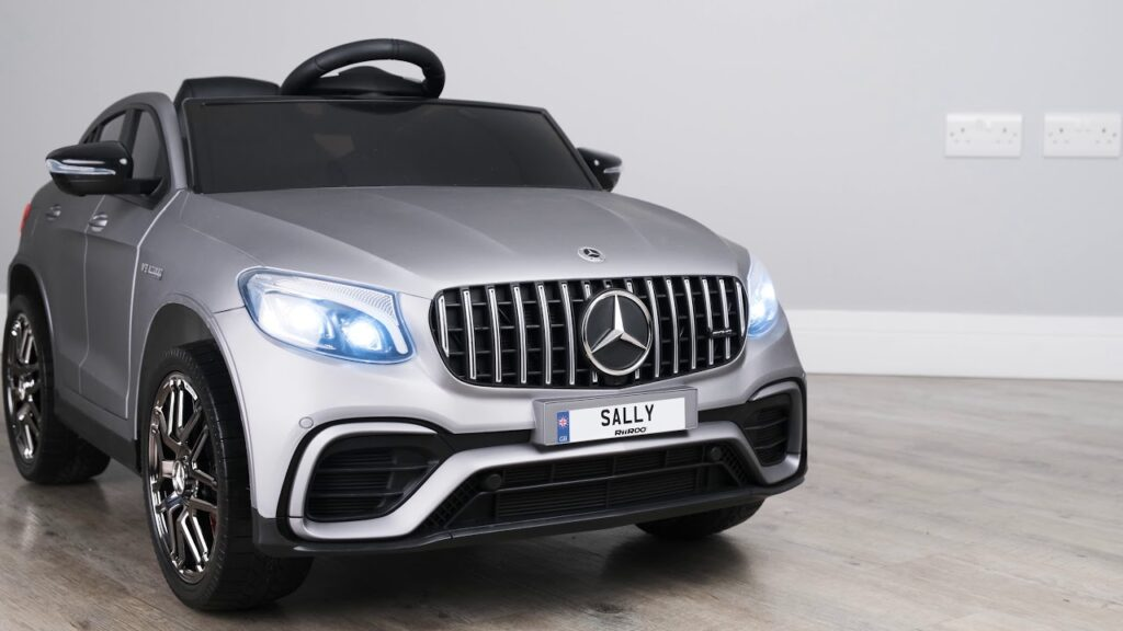 Image of First Drive Mercedes Benz GLC AMG 2 Seater 12V Kids Car 2021 Model