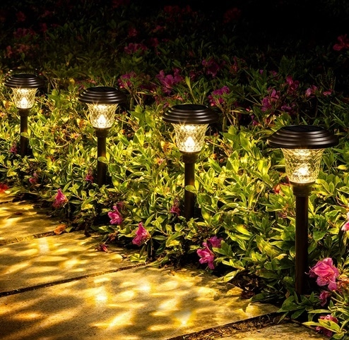 Photo of GIGALUMI 8 Pack Solar Pathway Lights