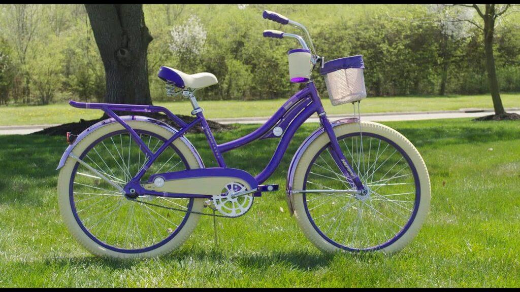 Image of Huffy Beach Cruiser 24-inch Bikes for Girls