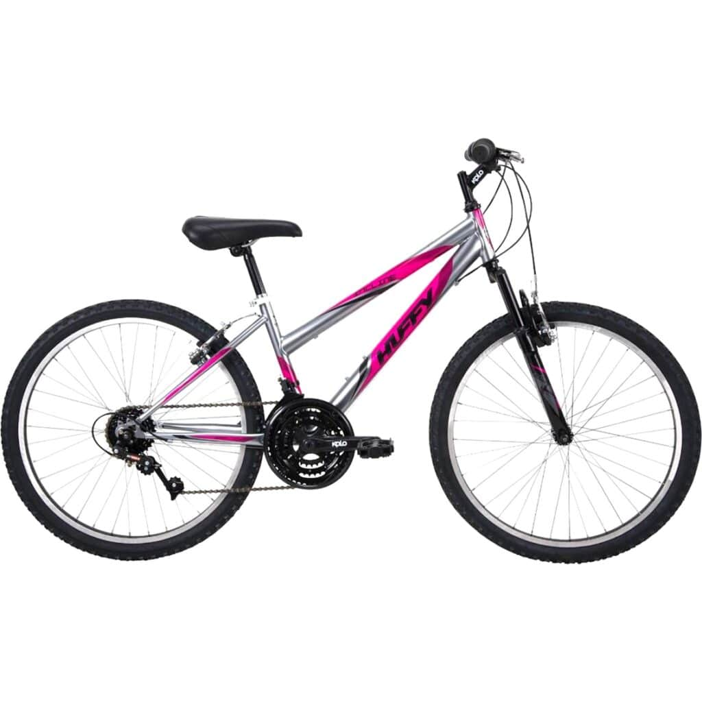 Image of Huffy Mountain Bike Girls Incline 24-inch Bicycle, Pink