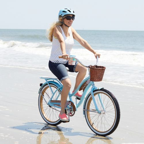 Picture of Huffy Panama Jack Beach Cruiser Bike, Sky Blue
