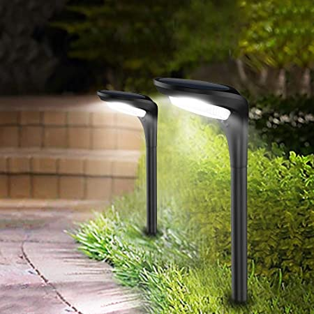 Photo of JSOT Outdoor Solar Pathway Lights 2021