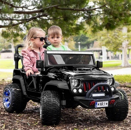 Picture of Kids 2 Seaters Ride-On Car Truck Explorer 12V