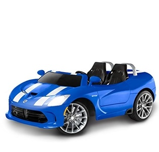 Image of Kids Trax Dodge Viper SRT Convertible Toddler Ride On Toy