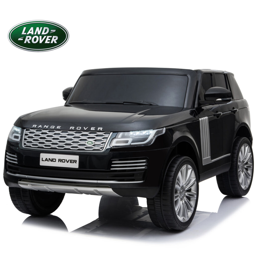 Image of Licensed Range Rover 12V Electric Ride On Car with 2 Seats