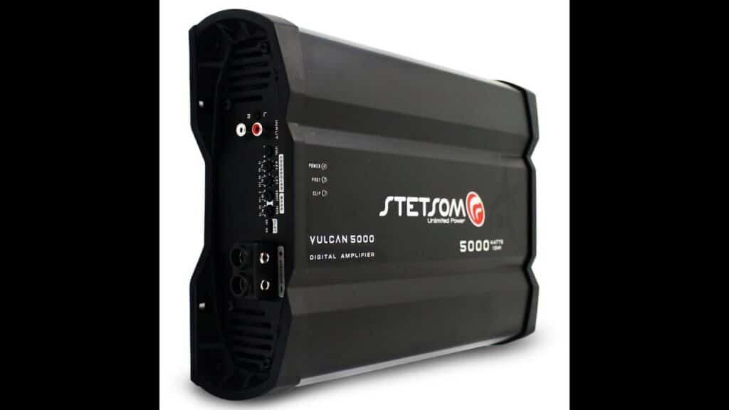 Picture of Stetsom Vulcan 5000 watt amp, 1 ohm, class D