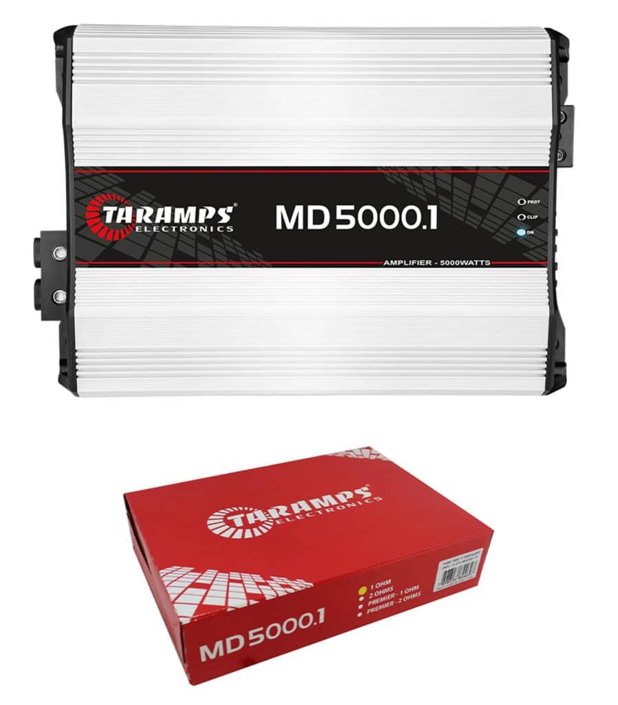 Picture of Taramp's MD5000.1 2 ohms 5000 Watts Class D Full Range Mono Amplifier