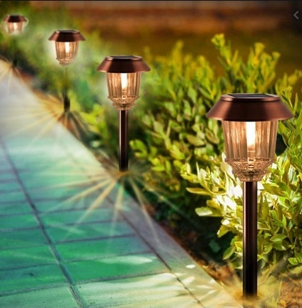 Image of XMCOSY+ Solar Pathway Lights 4 Pack