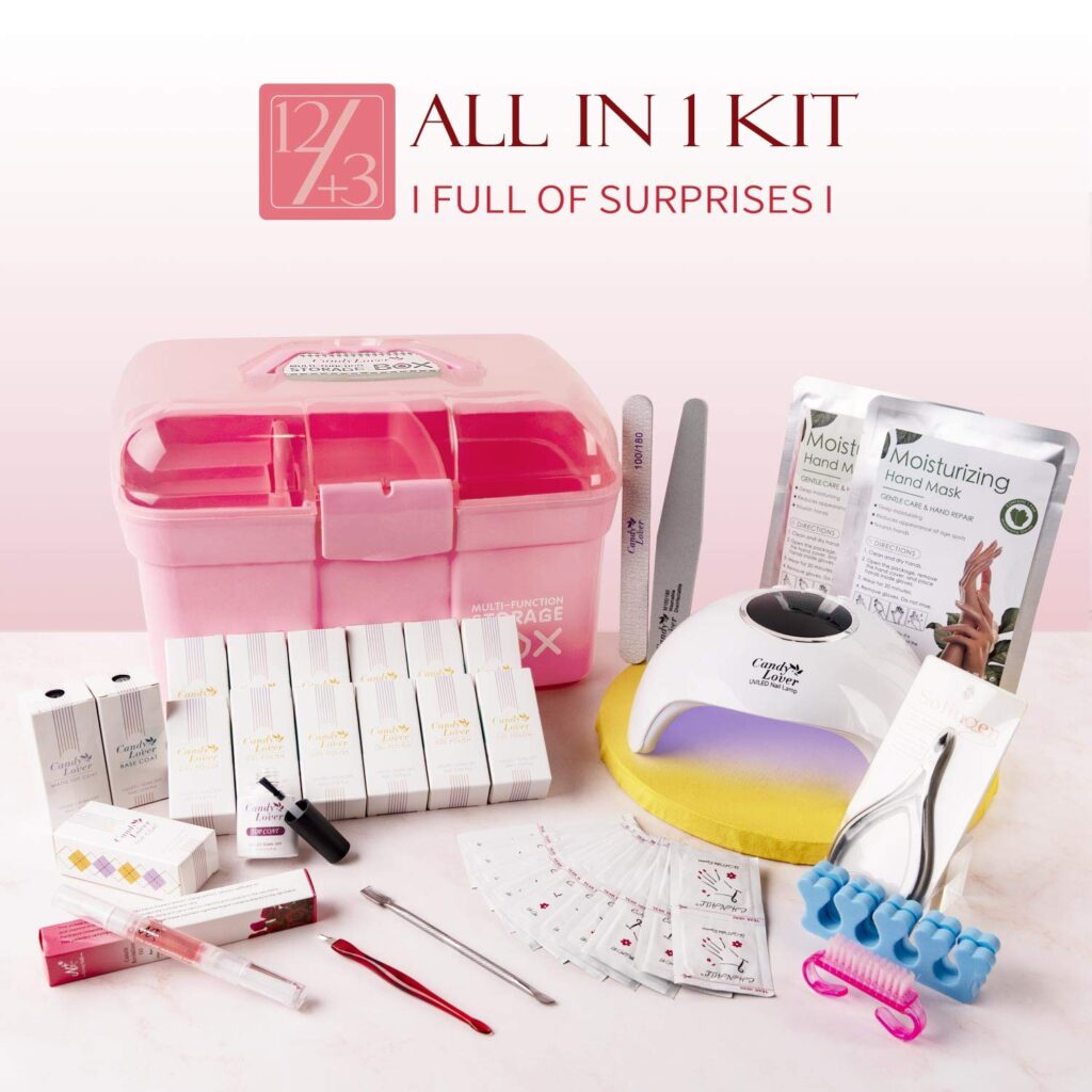 Photo of Candy Lover Gel Nail Polish Kit with 36W Lamp